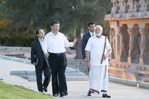تاکید رهبران چین و هند بر گسترش روابط و مبارزه با افراط گرایی