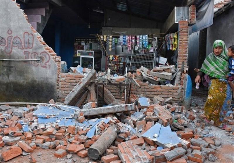 افزایش کشته های زلزله اندونزی به بیش از 140 نفر