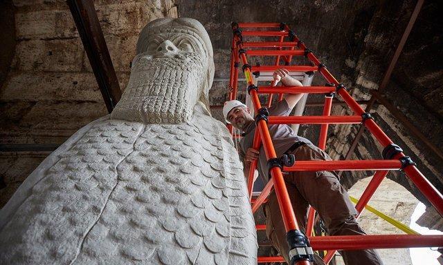 آثار تاریخی پالمیرا و نمرود در ایتالیا بازسازی می گردد