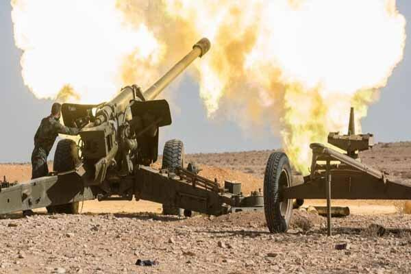 درگیری ارتش سوریه با نیروهای ترکیه در حومه رأس العین