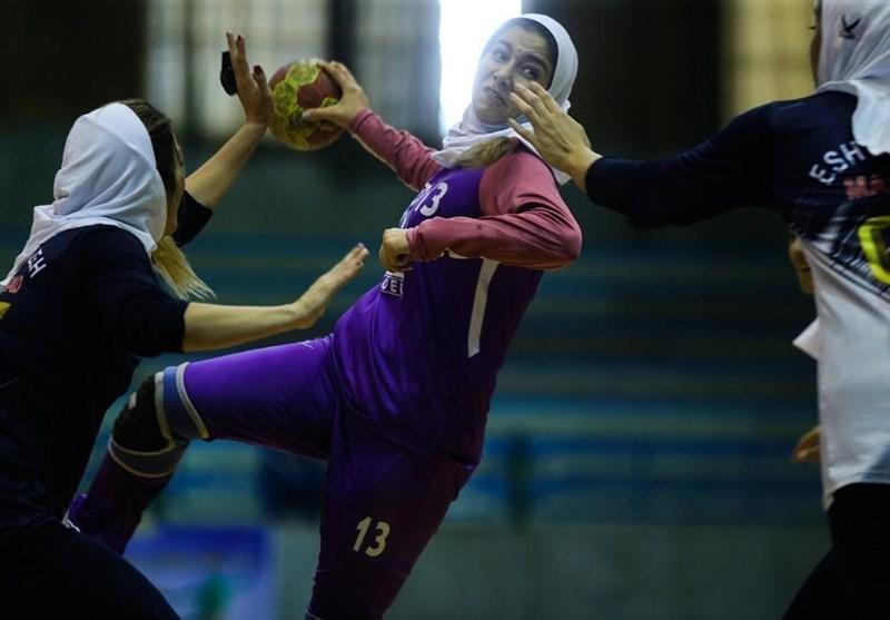 لیگ برتر هندبال بانوان، شکست نمایندگان اصفهان در هفته پایانی نیم فصل