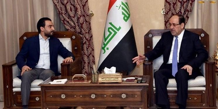 تأکید الحلبوسی و المالکی بر لزوم تسریع انتخاب نخست وزیر عراق