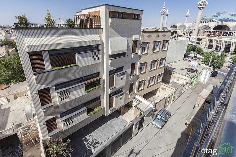 آنالیز 3 مدل نمای ساختمان مسکونی در تهران و اصفهان