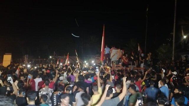 معترضان عراقی خواستار برگزاری انتخابات زودهنگام شدند