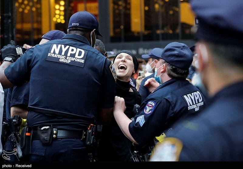 دستگیری بیش از 2500 معترض در ناآرامی های آمریکا