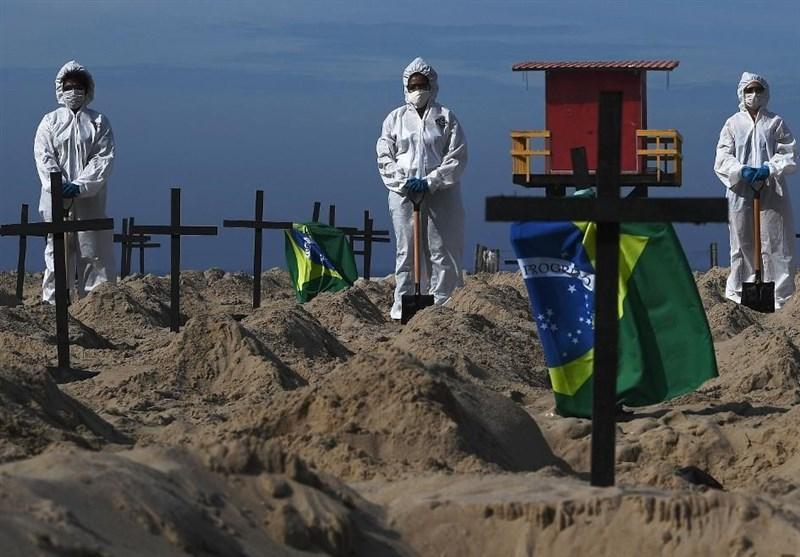 شمار قربانیان کرونا در برزیل از مرز 100 هزار نفر گذشت