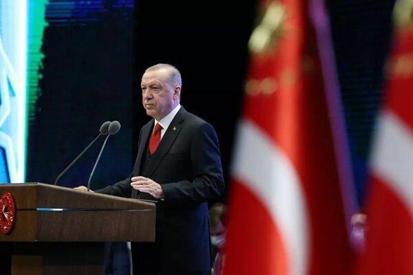 اردوغان: حضور نظامی ترکیه در خاک سوریه ادامه می یابد!