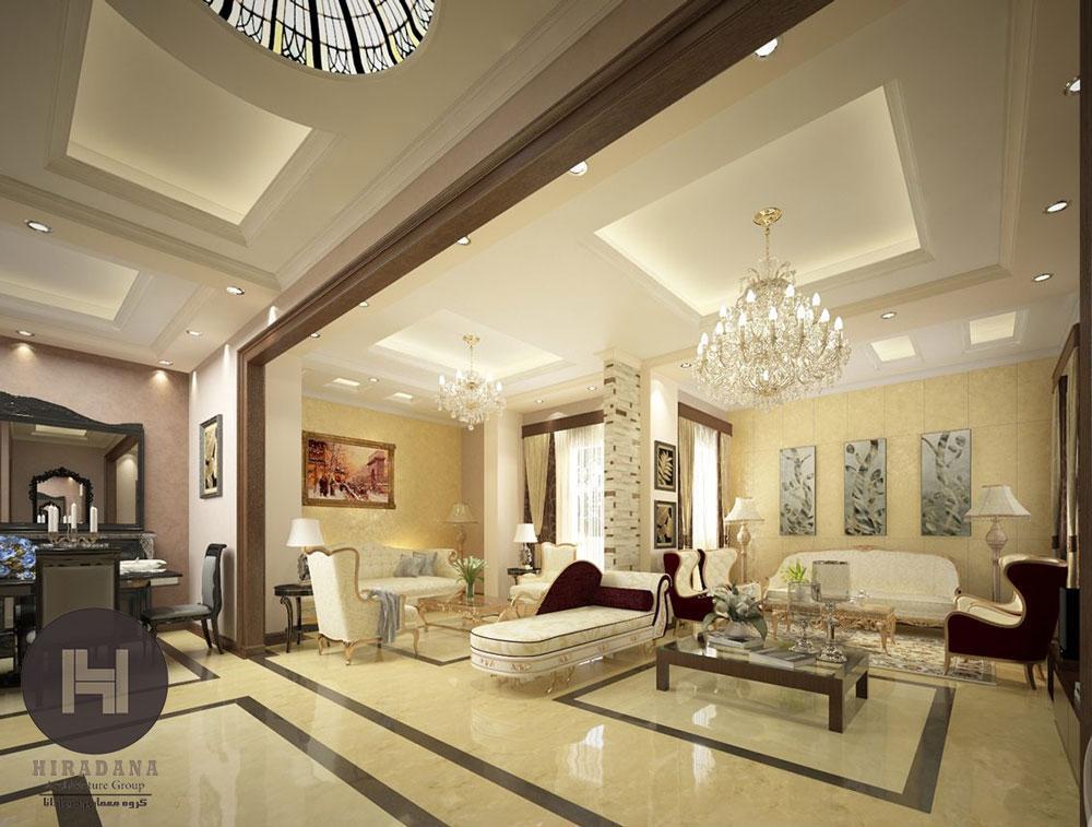 ایده های طراحی سقف ساختمان