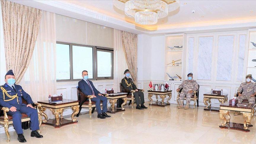 خبرنگاران تقویت همکاری های نظامی قطر و ترکیه