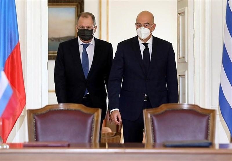 لاوروف: روسیه قصد مداخله در اختلاف یونان-ترکیه را ندارد