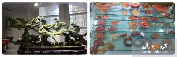 موزه سنگ و گوهر دریای نور شیراز در عمارت باغ ارم، عکس