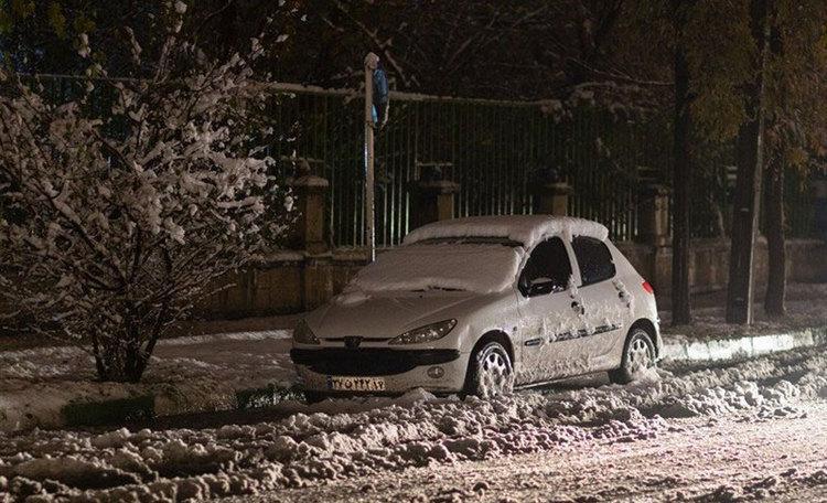 هشدار بارش شدید برف و باران در 21 استان امروز آدینه 7 آذر 99