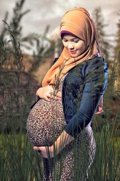 مدل لباس بارداری اسلامی و اصول شیک پوشی در دوران بارداری