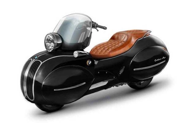 موتورسیکلت بی ام و با طرح وسپا را بشناسید