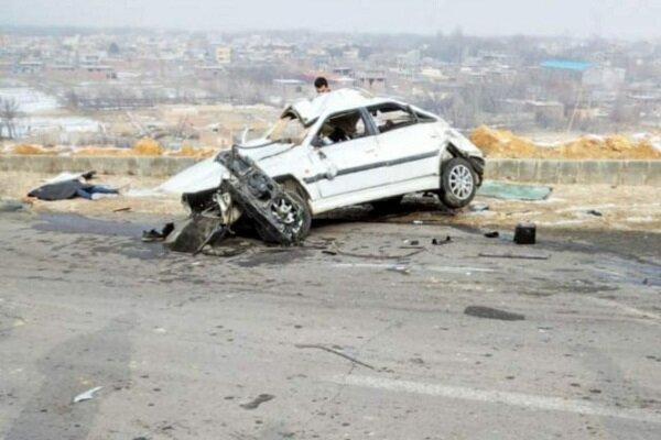 حادثه مرگبار رانندگی در گوگان دو نفر فوتی درپی داشت
