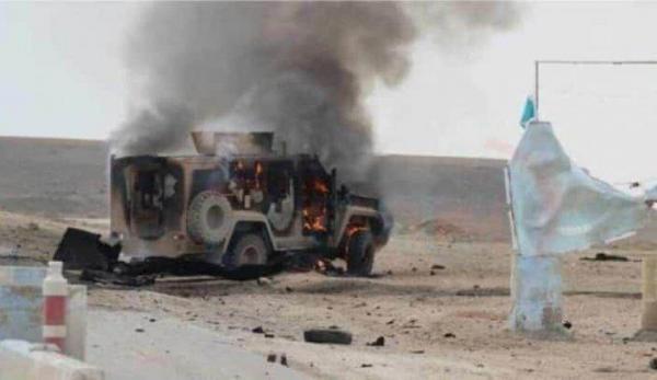 انفجار در جهت کاروان پشتیبانی ائتلاف بین المللی در عراق