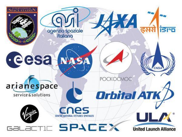 تولید فناوری در سازمان های فضایی دنیا چگونه است؟