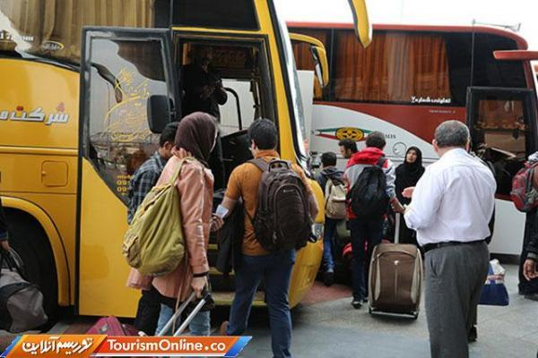 اتوبوس های بین شهری نباید بیش از 50 درصد ظرفیت مسافر سوار نمایند