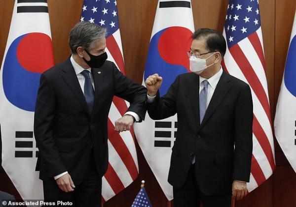گزینه های فشار و دیپلماتیک برای رویارویی با کره شمالی روی میز است خبرنگاران