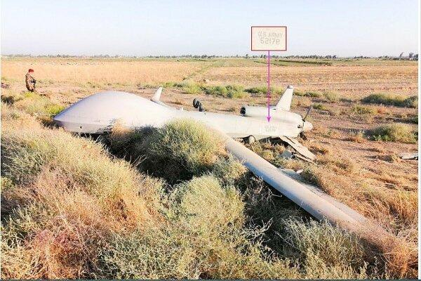 یک فروند پهپاد آمریکا در استان نینوا عراق سرنگون شد