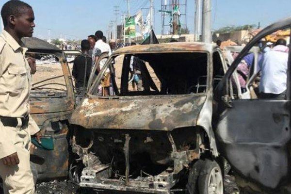 انفجار بمب در سومالی، چندین نفر کشته و زخمی شدند