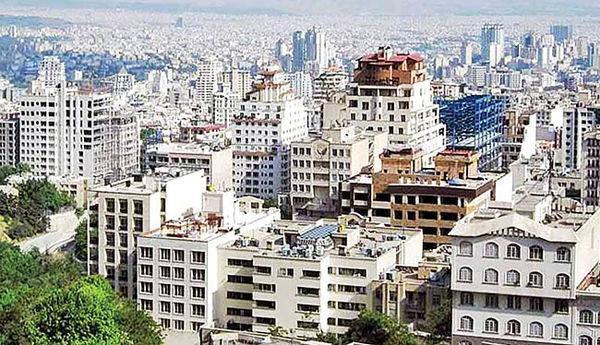 قیمت خانه های یک تا 5 ساله در تهران