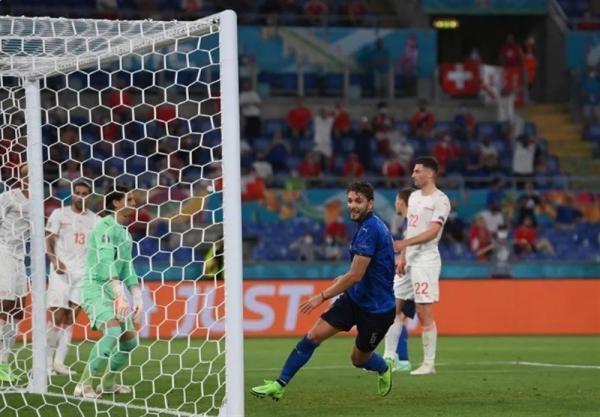 یورو 2020، خیز ایتالیا برای صعود با برد یک نیمه ای برابر سوئیس