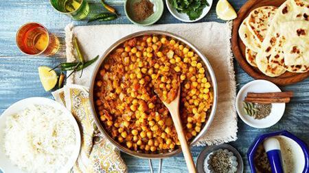 طرز تهیه چانا ماسالا؛ غذای تند هندی و یا پاکستانی