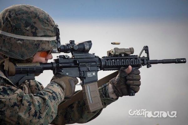 اسلحه انفرادی نو و مدرن ارتش ایالات متحده با تکنولوژی های پیشرفته تانک و آیفون