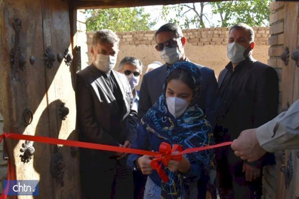 یک اقامتگاه بوم گردی در روستای خورهه افتتاح شد
